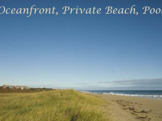 BSCHL - Oceanfront, Private Beach, Pool, WiFi - West Tisbury vacation rentals