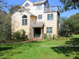 KINNE - Easy Breezy Vacation Home with Distant Waterview,  Tri-Level Living - Aquinnah vacation rentals