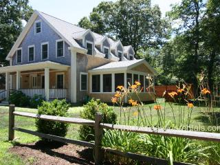 BURBS - Stylish New Home, Central AC, Wifi, Screened Porch - Oak Bluffs vacation rentals
