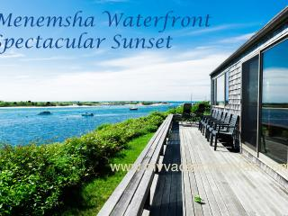 LEWID - Menemsha Waterfront,  Magnificent Views and Private Location, WiFi - Chilmark vacation rentals