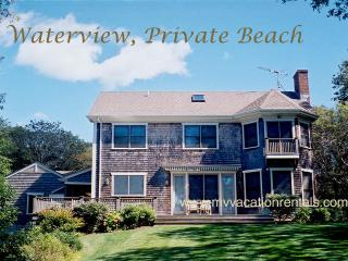 SUTUM - Lambert's Cove, waterview, walk to private association beach, WiFi - Vineyard Haven vacation rentals