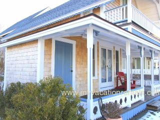 HAYEL - Gingerbread Cottage, Walk to Town, Harbor Area and Inkwell Beach,  Large Summer Porch, Deck,  Some Room AC, Wi-Fi - Oak Bluffs vacation rentals