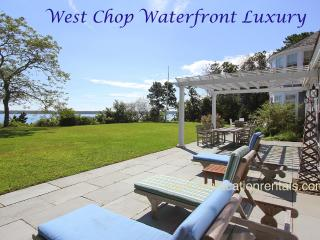 FIELR - Exquisite West Chop Waterfron Home, Panoramic Ocean Views, Beach, Less that  a Mile to Town Center - Vineyard Haven vacation rentals