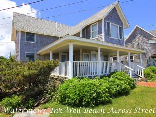 SAMAJ - Gorgeous Ocean View Cottage Home, Ink Well Beach Across Street, Walk to Town - Oak Bluffs vacation rentals