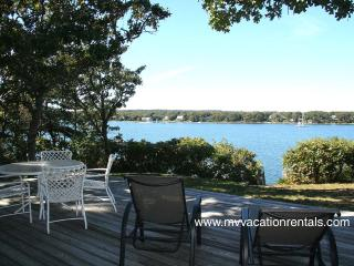 SMYTS - Waterfront, Waterview, Private Beach Lagoon, Wifi Internet - Oak Bluffs vacation rentals