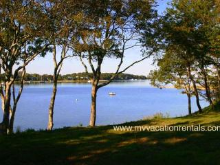 BEVEC - Lagoon Waterfront Contemporary Home, Patio and Screened Porch Areas Overlook the Lagoon, Central AC - Oak Bluffs vacation rentals
