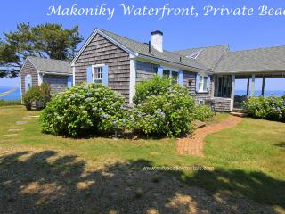FINBJ - Makonikey Cottage by the Sea, Private Beach, Mesmerizing Waterviews, Spectacular Sunset Views, WiFi - West Tisbury vacation rentals