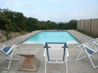 WEINP - Hilltop in Aquinah, Pool, Spectacular Views, Expansive Decks, Perfect Family Retreat, Short Drive to Gorgeous Beaches - Aquinnah vacation rentals