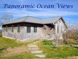 TIERD - Light House Rd Contemporary Retreat with Spectacular Unobstructed Waterviews over the North Shore. Sunsets, Gorgeous Aquinnah Beaches - Aquinnah vacation rentals