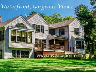 VOORT - Gorgeous Tashmoo Waterfront, Panoramic Views, Architect Designed Home, Possible Mooring See Details Below - Vineyard Haven vacation rentals