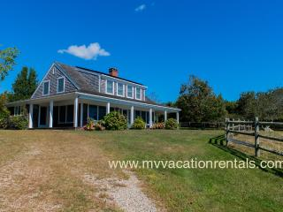 LORUJ - Spacious Ocean View Home,  Private Association Beach - South Shore - Inquire,  1 Mile to Lucy Vincent Public Beach,  Central A/C,  WiFi - Chilmark vacation rentals