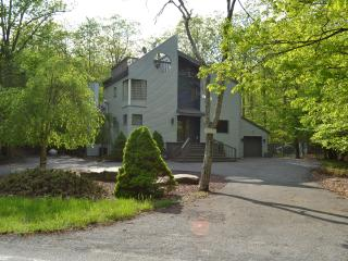 Creekfront. Modern 3500 sf. A/C. Pool, Tennis - Bushkill vacation rentals