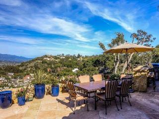 Spacious city view home on Mesa has a home theater and avocado orchard - Mira Vista Retreat - Santa Barbara vacation rentals