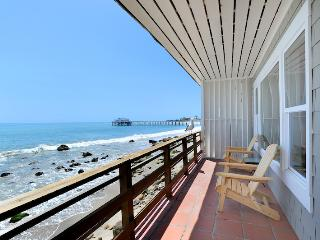 Fabulous Oceanfront Cottage on Dry Sandy Beach - Malibu vacation rentals