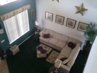 Birds Eye View Living Room - WFR6P723WR Orlando 6 BR Pool Home WFR6P723WR - Orlando - rentals