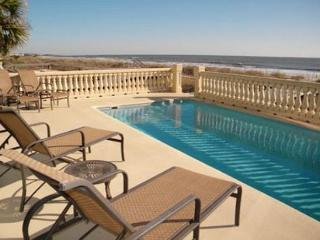 6BR/6BA Oceanfront Home with Pool and Elevator has a Magical Setting - Hilton Head vacation rentals