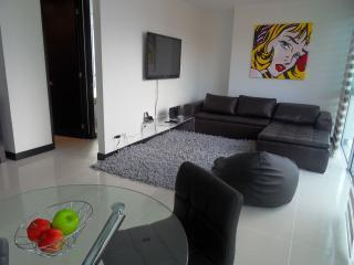 NEW - 2b/2ba w/ Rooftop Pool, Gym, WALK everywhere - Medellin vacation rentals