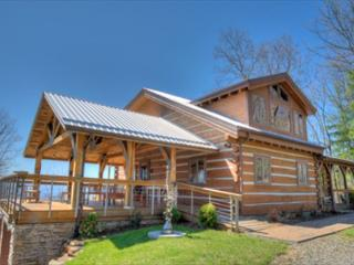 Skyline Log Cabin at Reems Creek - Weaverville vacation rentals