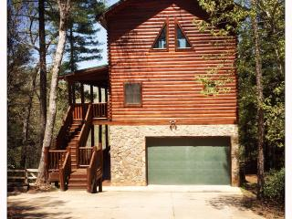 Log home on the river with mountain views - Lake Lure vacation rentals