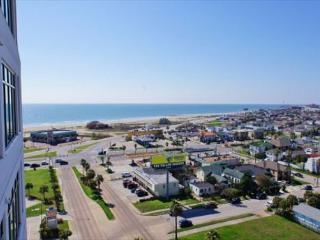 Beach views from beautiful Emerald By The Sea condo! - Galveston vacation rentals