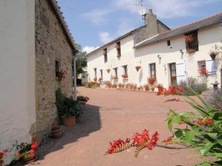 FARMHOUSE sleeps 6 character & charm FREE WIFI - Les Verchers-sur-Layon vacation rentals