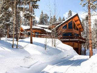 Modern log home on Peak 7 with a hot tub and amazing views - Fallen Timbers Lodge - Breckenridge vacation rentals