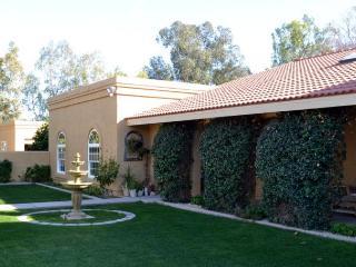 Sleeps 10 with Casita, pool, 2 acre, horses welcom - Goodyear vacation rentals