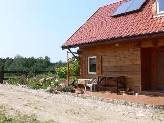 Wooden house close to the lake, deep forest - Jedwabno vacation rentals
