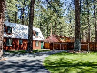 Dog-friendly cabin w/ shared hot tub, fenced ground! Close to beaches & slopes! - South Lake Tahoe vacation rentals