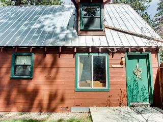 Pet-friendly cabin w/ hot tub; fenced grounds; trails - South Lake Tahoe vacation rentals