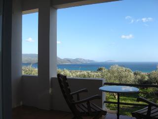Cosy Studio: magnificent view on the Ionian sea - Finikounda vacation rentals
