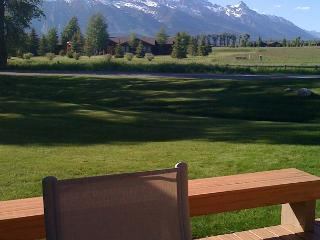 Enjoy Grand Teton Views at this Golf Creek Ranch condo! - Jackson vacation rentals