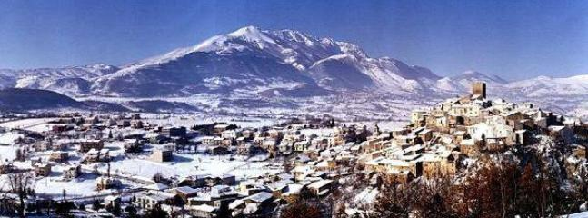 on the winter - Abruzzo Castel di ieri - Castelvecchio Subequo - rentals