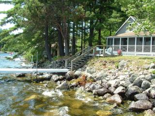 Charming 4-bedroom on Shore of Sebago Lake - Sebago vacation rentals