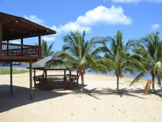 Gazebo on beach - Beachfront for Romantics, Divers, Nature-Lovers! - Roatan - rentals