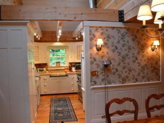 Colonial-style log home in a quiet setting - Barnard vacation rentals