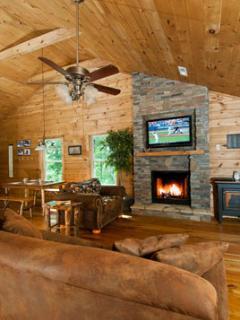 The Cabins at Long Branch: Sassafras Breeze - Lake Nantahala vacation rentals