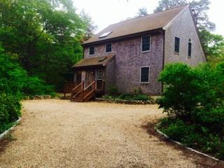 front exterior & driveway - Edgartown rental home - ready for summer 2015! - Edgartown - rentals