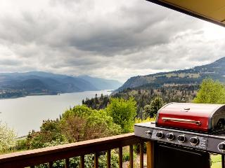 Stunning views of the river & Mt Hood from this home w/two decks, game room - White Salmon vacation rentals