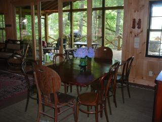 On the lake, tree house and 2-slip boathouse in very private setting! - Tuxedo vacation rentals