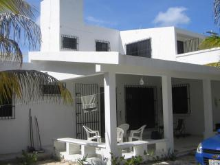 White house 2 minutes from the beach! - Yucatan vacation rentals