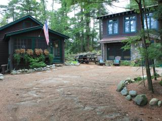 Atateka Point Lodge and Treehouse Guest Cottage - Adirondacks vacation rentals