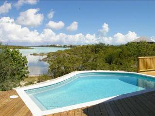 Located directly on Chalk Sound, this villa is a 1-minute walk to Sapodilla Bay Beach. IE SRV - Ocean Point vacation rentals