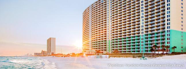 beach side high rise - Emerald Green Resort -Wyndham Beachfront  2bd/2ba - Panama City Beach - rentals