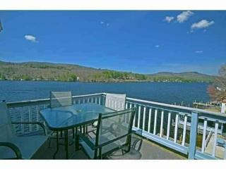 WATERFRONT PENTHOUSE ON LAKE WINNIPESAUKEE - PRIVATE BEACH & BOAT DOCK - Alton Bay vacation rentals