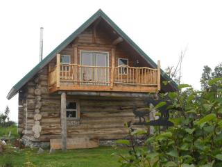 Alaskan Log Home on the Bluff of the Cook Inlet!!! - Ninilchik vacation rentals