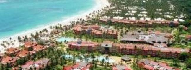 Aerial view of Caribe Princess - Room in beachside resort.All meals,drinks included - Punta Cana - rentals