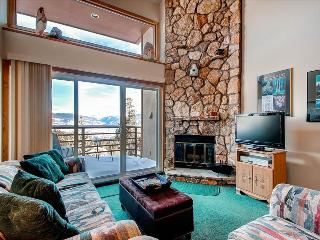 BUFFALO VILLAGE 402: 1 Bed/2 Bath+Sleeping Loft, Comfortable Space with a View, On-Site Clubhouse, Elevator, Free WiFi - Silverthorne vacation rentals