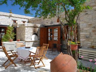 Eco Traditional Stone Village House, w/Courtyard - Vavla 			 vacation rentals