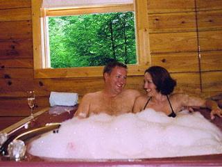 Romatic Gatlinburg Log Cabin Rental for Two - Gatlinburg vacation rentals
